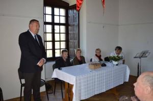 Pécsvárad polgármestere és az alapítvány elnöksége
